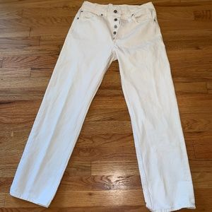 Levi's 501 straight leg jeans 31x30 early 80s